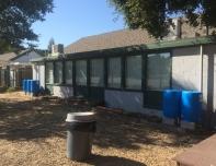 rain tanks at school