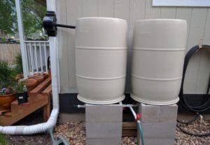 Rain barrels Colorado