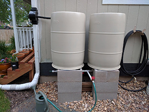Jays BlueBarrel Rainwater Catchment System
