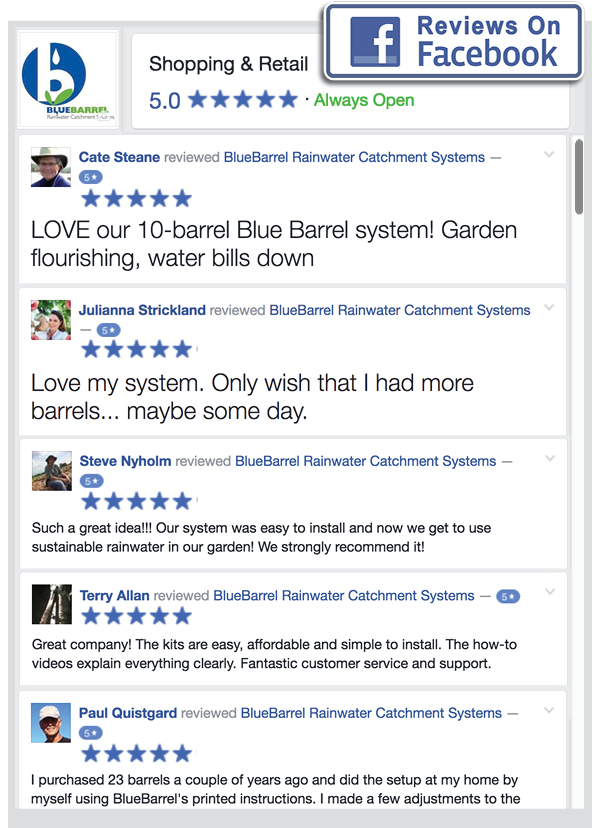BlueBarrel Customer Reviews