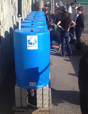 BlueBarrel System at HHS