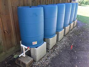 Dannys BlueBarrel Rainwater Catchment System