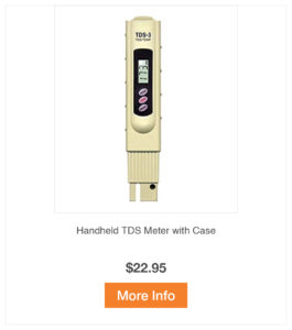 Handheld TDS Meter with Case