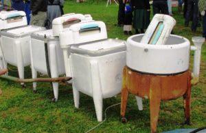 Amish Wringer Laundry