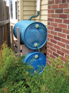 stack rain barrels