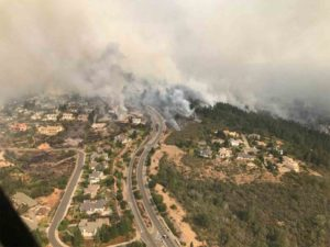 Fire and Rain: The North Bay Wildfire tears through a housing development