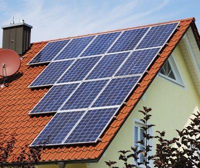 solar panel roof ok for rainwater catchment