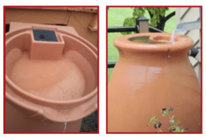 Molded Top Rain Barrels