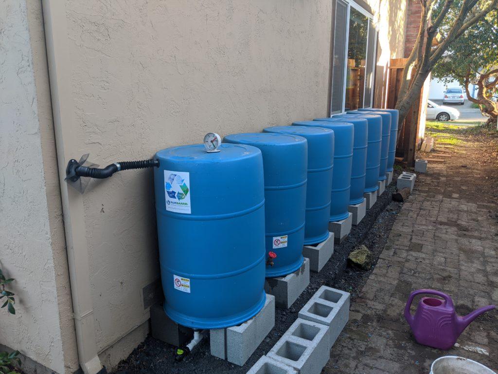 BlueBarrel Rainwater Catchment System