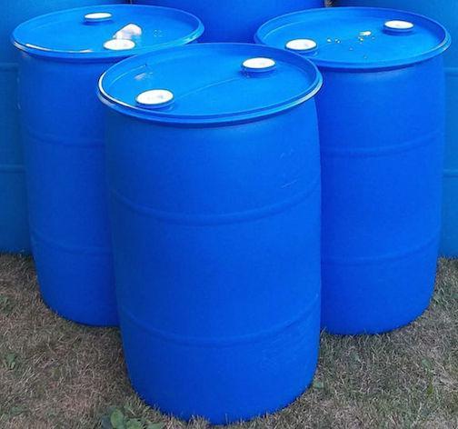 History Of Blue Plastic Barrels Bluebarrel Rainwater