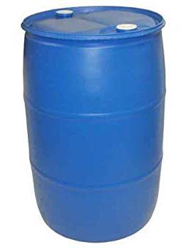 55 gallon blue barrel