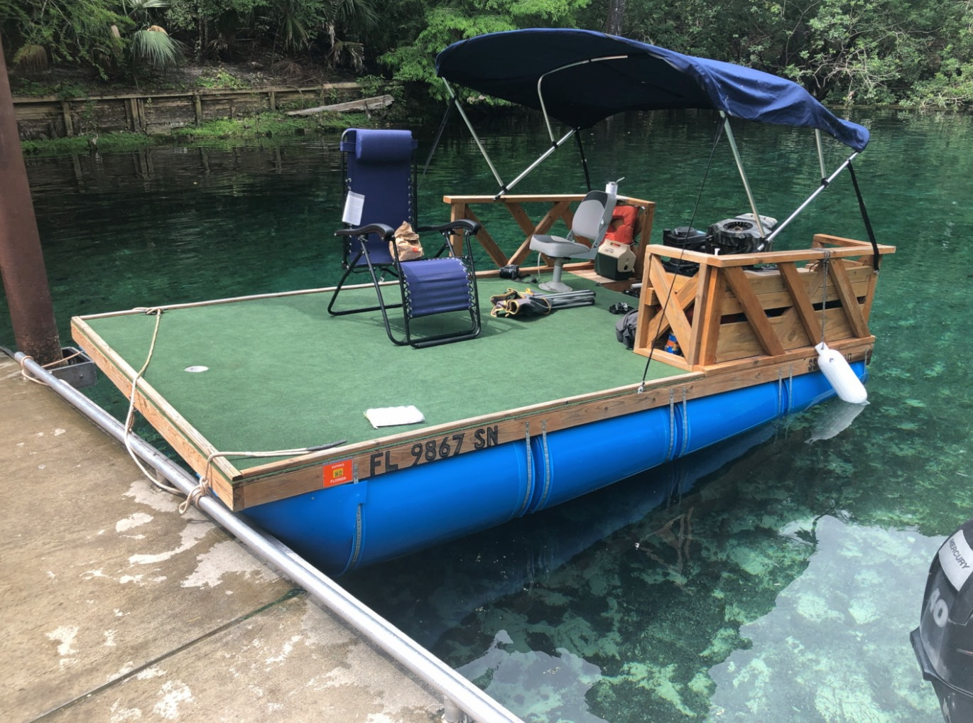 Fishing boat? Party boat? The possibilities are endless! Make it your own.