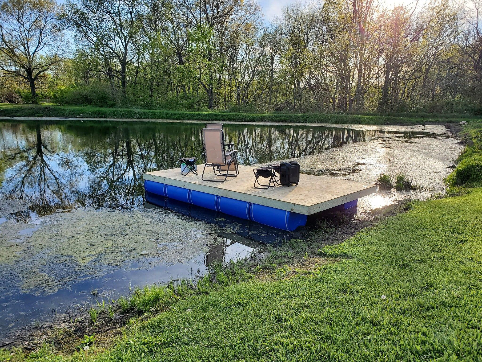 build floating dock